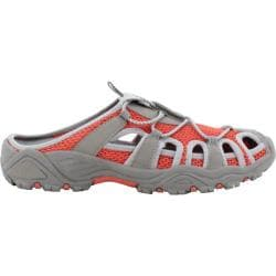 Women's Propet Discover Slide Coral/Grey