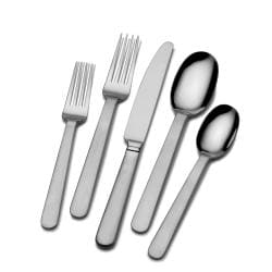 Mikasa Blume 18/0 Stainless Steel 20-pc Flatware Set