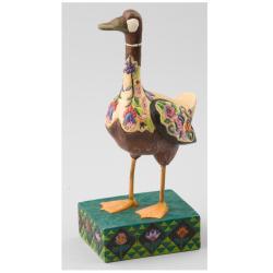 Jim Shore Lady of Lake Goose Figurine