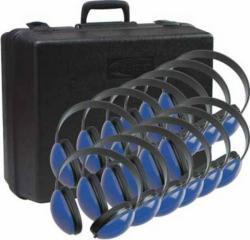 Califone 12-piece Blue Headphone