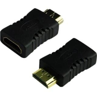 4XEM HDMI A Male To HDMI A Female Adapter