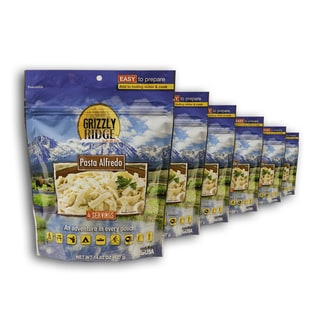 Grizzly Ridge Pasta Alfredo Sauce (Pack of 6)