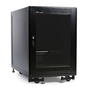 StarTech.com 15U 19in Black Server Rack Cabinet with Fans