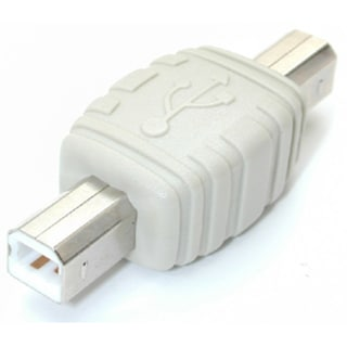 StarTech.com USB B to USB B Cable Adapter M/M