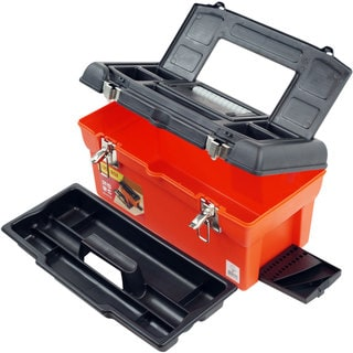 Trademark Tools 7-compartment Utility Box with Tray