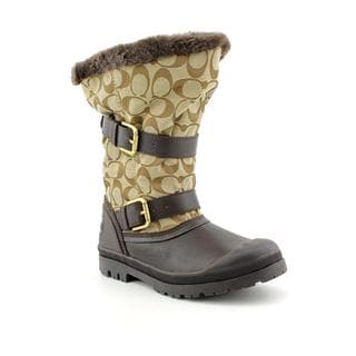 Coach Women's 'Holiway' Leather Boots