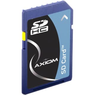 Axiom 4GB Secure Digital High Capacity (SDHC) Card - Class 4