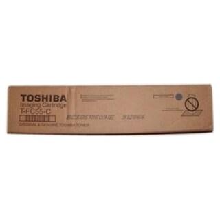 Toshiba TFC55C Toner Cartridge - Cyan