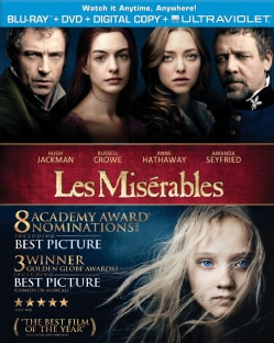 Les Miserables (Blu-ray/DVD) 10757741