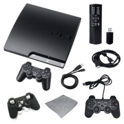 Playstation 3 160GB Super Holiday Bundle with Extra Controller, Remote, and More