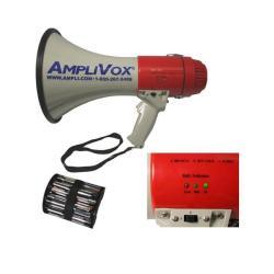Amplivox S602m Mity-meg Megaphone (25 Watt With Detachable Mic)