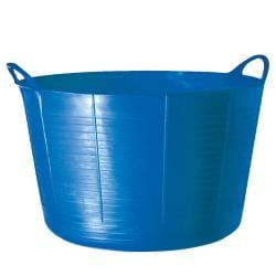 TubTrugs X-Large Blue Plastic 75-liter Flex Tub