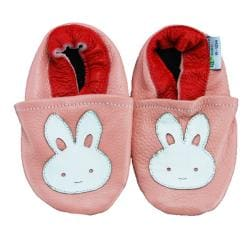 Bunny Rabbit Soft Sole Leather Baby Shoes