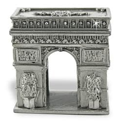 Objet d'art 'L'arc de Triomphe' France Trinket Box
