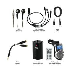 Naxa NA-3009 9-in-1 Premium Accessory Kit for iPod iPhone MP3/MP4 Players & Mobile Devices