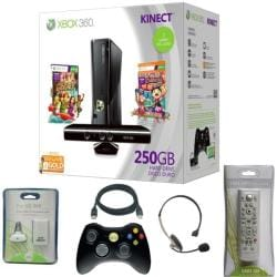 Microsoft Xbox 250GB Kinect Ultimate Hoiday 2 Player Bundle