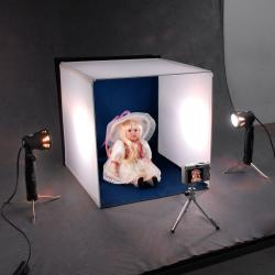 Deluxe Table Top Photo Studio Photo Light Box