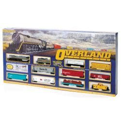 Bachmann HO Scale Overland Limited Train Set