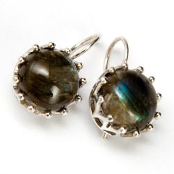 Sterling Silver Labradorite Earrings (India)