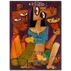 Dieguez 'Una Noche en le Habana' Canvas Art