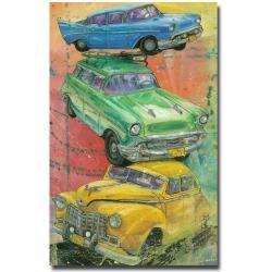 Alberto 'Back Then' Canvas Art