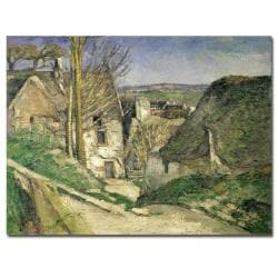Paul Cezanne 'The House of the Hanged Man' Canvas Art