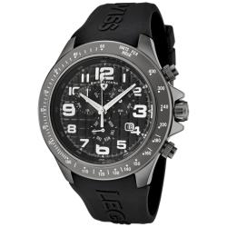 Swiss Legend Men's Eograph Black Silicon Watch