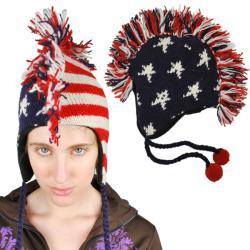 USA Wool Mohawk Hat (Nepal)
