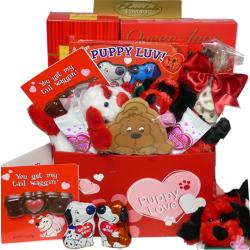 'Puppy Love' Chocolate & Candy Gift Box