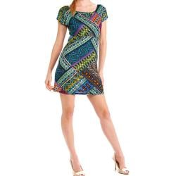 Tabeez Women's Bright Shift Dress