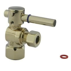 Polished Brass Angle Valve Stop