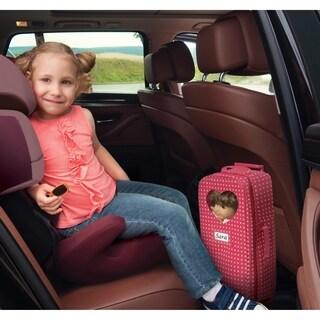 Badger Basket Trolley Doll Travel Case w/ Rocking Bed and Bedding.