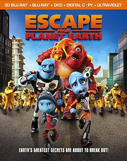 Escape From Planet Earth 3D (Blu-ray/DVD) 10826307