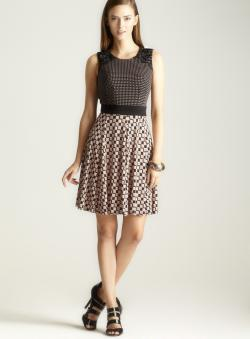 Taylor Printed Belt Dress