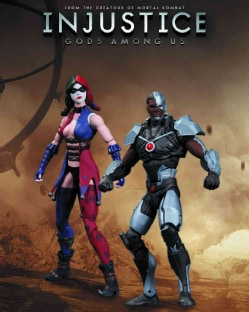 Injustice Cyborg Vs Harley Quinn Action Figure 2 Pack (Toy)