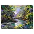 Autumn Landscape Oversized Gallery Wrapped Canvas
