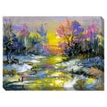 Winter Landscape Oversized Gallery Wrapped Canvas