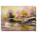 Here Comes Spring Oversized Gallery Wrapped Canvas