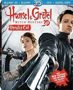 Hansel and Gretel: Witch Hunters 3D (Blu-ray/DVD) 10910043