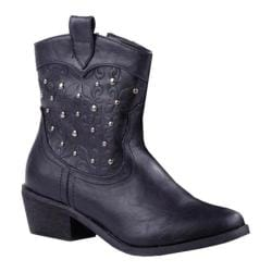 Women's Reneeze Bette-01 Black Pull-On Boots