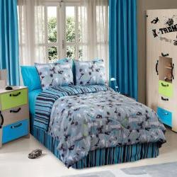 Action Sports 4-piece Twin-size Comforter Set