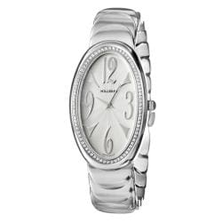 Milleret Women's 'Anaconda' Stainless Steel Diamonds Watch