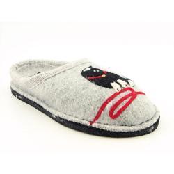 Haflinger Women's Kitty Gray Slippers