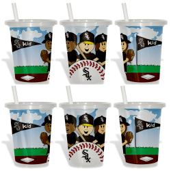 Chicago White Sox Sip and Go Cups (Pack of 6) 8873613