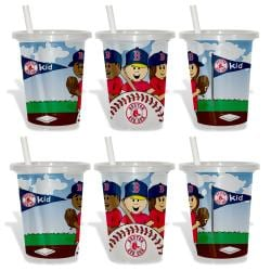 Boston Red Sox Sip and Go Cups (Pack of 6) 8873615
