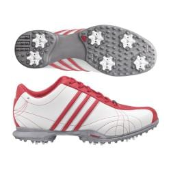 Adidas Women's Signature Natalie White/ Beacon/ White Golf Shoes (9086417 670578) photo
