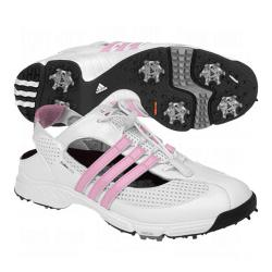 Adidas Women's CC Slingback 2.0 White/ Blossom Golf Shoes