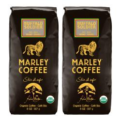Marley Coffee Buffalo Soldier Whole Bean Coffee (1 Pound) 9101579