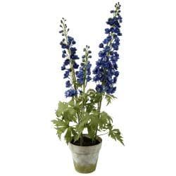 Delphinium 35-inch Silk Plant