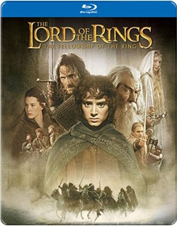The Lord of the Rings: The Fellowship of the Ring Steelbook (Blu-ray Disc) 10928045